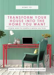 how to transform your house into the home you want