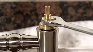 how to clean a kitchen faucet cartridge youtube