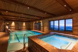 In Door Pool by The Ultimate Luxury Amenity Lavish Indoor Pools