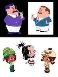 personagens wreck ralph por bill schwab thecab