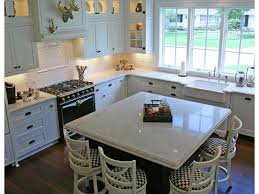 leather stools gloss floor silestone minerva cream cabinets to
