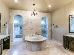 Bhr Home Remodeling Interior Design Custom Bathroom With Walk Through Shower Yep That U0027s What He