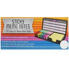 asab sticky memo notes post pads leather organiser desk index tab
