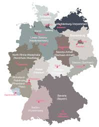 Detailed Map Of Germany by Map Of Germany Solution Conceptdraw Com