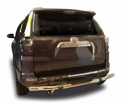 nissan pathfinder rear bumper wynntech rear bumper protector guard fits 10 16 toyota 4runner