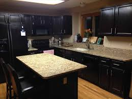 Stain Unfinished Kitchen Cabinets staining oak kitchen cabinets best home decor