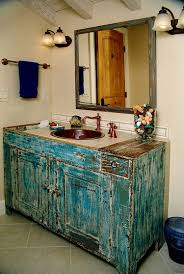Black Distressed Bathroom Vanity by Revitalized Luxury 30 Soothing Shabby Chic Bathrooms