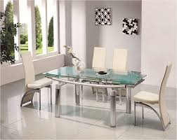 extendable dining room tables and chairs unique 9 extendable glass
