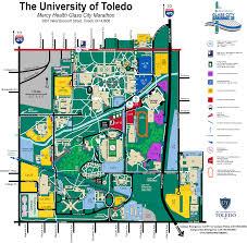 Map Of University Of Michigan by Mercy Health Glass City Marathon U2014 Run Toledo Gcm April 22 2018