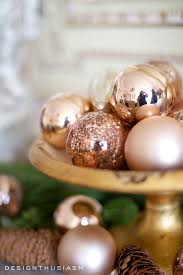 how to use rose gold christmas decor for the holidays holiday
