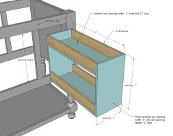 Kitchen Cabinets With Pull Out Shelves by Ana White Pull Out Drawers Diy Projects