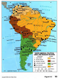 Political Map Of Latin America by South America Political Divisions And Regions 2004