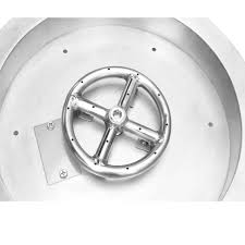 Fire Pit Burner by Stanbroil Stainless Steel Round Drop In Fire Pit Burner Ring Pan