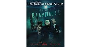 halloween horror nights movie beginning september 15 u0027the horrors of blumhouse u0027 takes