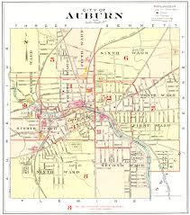 New York County Map by 1904 Cayuga County Ny Atlas Maps