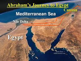 Egypt On A World Map by Old Testament Maps Ebibleteacher