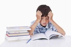 Teachers should do their homework first        BT BT com Young boy struggling with homework