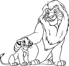 download coloring pages lion king coloring pages lion king