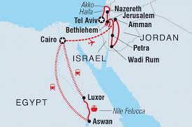 Jordan Country Map Jordan Tours U0026 Travel Intrepid Travel Au