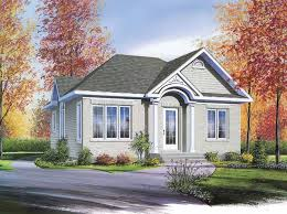 Small Affordable Homes Small Home European Bungalow Model Model Affordable Housing