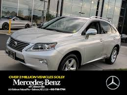 lexus manufacturer recall used 2014 lexus rx 350 auto for sale in baltimore md vin