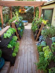 deck container garden ideas design outdoor spaces newest small