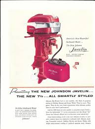 1951 johnson motors color ad the johnson sea horse 5 hp