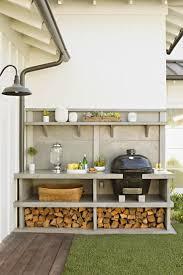 Diy Outdoor Kitchen Ideas Best 25 Simple Outdoor Kitchen Ideas On Pinterest Outdoor Bar