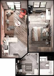 Tiny House Hotel Near Me Home Designing U2026 Home Design Pinterest Square Meter Small