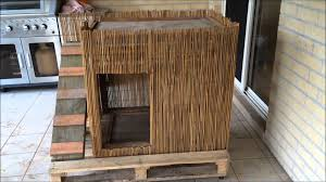 diy double decker hut two level kennel dog house youtube