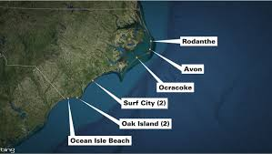 Florida Shark Attack Map by Sharks Fact And Fiction Wavy Tv