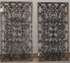 wrought iron decorative wall panels wrought iron wall art