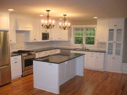 Unfinished Kitchen Island Cabinets Corner White Wooden Kitchen Cabinet With Glass Doors Combined With