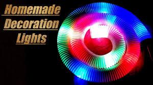 how to make home decoration lights at home easy diwali ganpati
