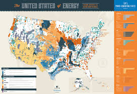 States Of United States Map by New Energy Map Of United States Reveals Disproportionate Landscape