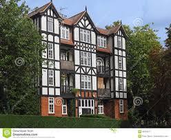 Tudor Style by Tudor Style Apartment Building Stock Photo Image 82853277