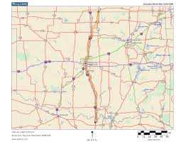 Oklahoma City Map Oklahoma Highways Original Oklahoma Route 4