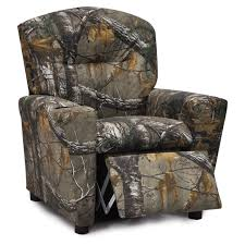 camouflage kids u0027 recliners