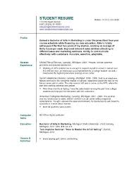 Resume Samples For Job  resume template model resume samples job
