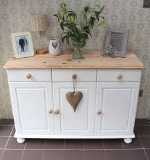 shabby chic annie sloan painted pine sideboard pine sideboard