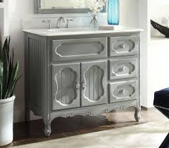 Vanity Units With Drawers For Bathroom by Bathroom Compelling White Country Bathroom Vanity With Drawers