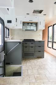 the progress of our rv kitchen cabinets mountain modern life