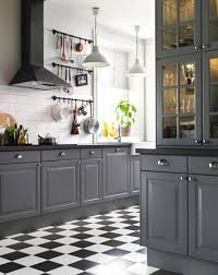 Gray Color Schemes For Kitchens by Best 25 Gray Kitchens Ideas Only On Pinterest Grey Cabinets