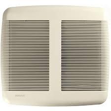 Quiet Bathroom Exhaust Fan Shop Broan 1 Sone 110 Cfm White Bathroom Fan Energy Star At Lowes Com