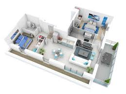 Plans Design by 25 More 2 Bedroom 3d Floor Plans 7 Office Interior Design