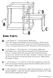 Plans For Bunk Bed With Steps by Bunk Bed Plans Pdf Bed Plans Diy U0026 Blueprints