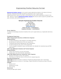 Format Of Resumes Resume Format For Law Graduates Freshers