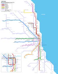 Public Transit Chicago Map by Metra Map Metra Pinterest Chicago