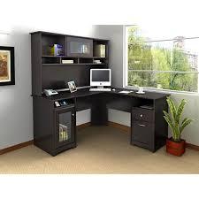 Computer Desks Black by Bush Fairview Computer Desk And Optional Hutch In Antique Black