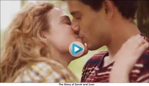Did we just see a desi ad with a kiss in it  Wrigley     s Sarah and Juan love story